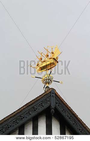 Weather Vane Ship