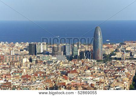 Barcelona, Torre Agbar