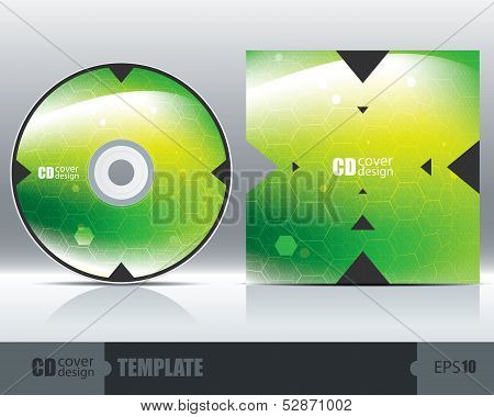 Cd Cover Design Template Set 2