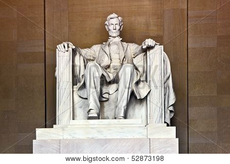 Lincoln Memorial In Washington