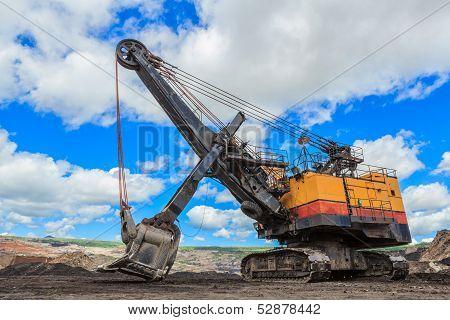 Electric Shovel In Lignite Mining