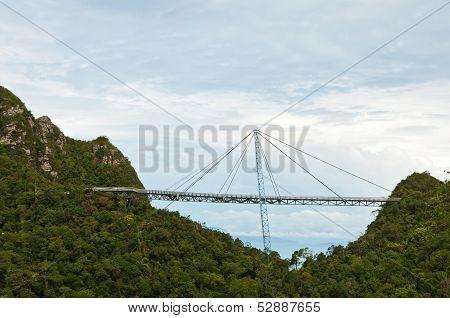 The Langkawi Sky Bridge In Langkawi Island