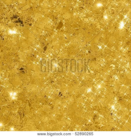 Abstract gold background with copy space. Gold glitter background. Gold glittering texture.