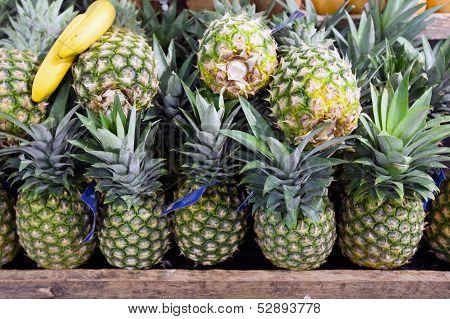 Pineapples In Foodstore