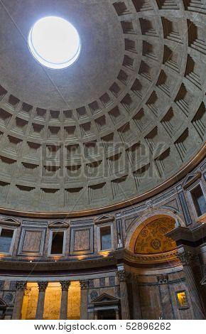 Pantheon Dome Interior