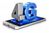 pic of high-speed  - Creative abstract mobile telecommunication cellular high speed data connection business concept - JPG