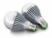 stock photo of diodes  - Creative power saving and energy conservation industry business ecological concept - JPG