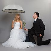 picture of enamored  - Wedding day - JPG