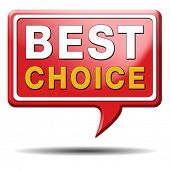 best choice top quality label best icon best product comparison button with text and word concept