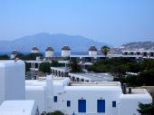 Mykonos White And Blue