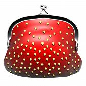 appetizing purse strawberries