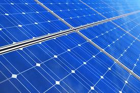 stock photo of solar battery  - Creative solar power generation technology - JPG
