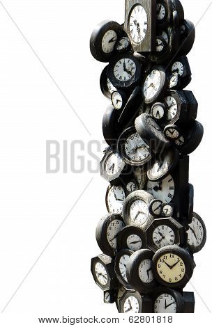 A tower of clocks