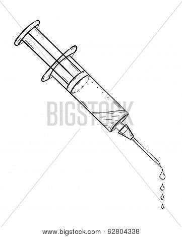 Injection With Fluid