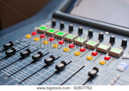 Large Music Mixer desk