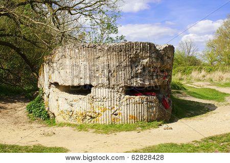 Hill 60 Pillbox  World War 1 German Bunker