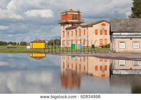 Old Soviet Union airport