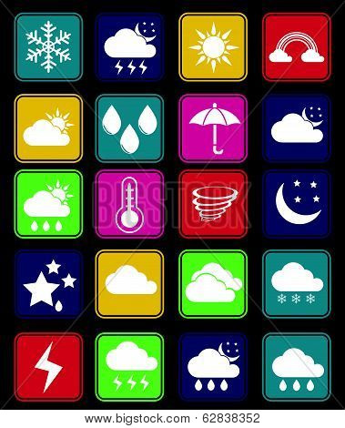 Weather Effect Icon Set
