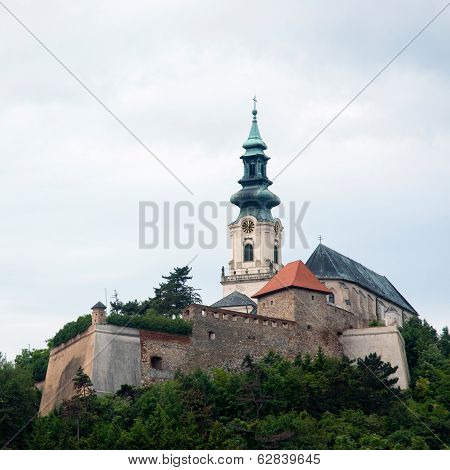 Nitra Castle In Slovak Republic