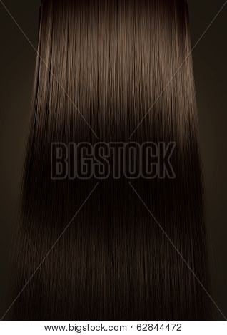 Brown Hair Perfect Straight