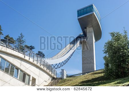 Bergisel Tower In Innsbruck, Austria.