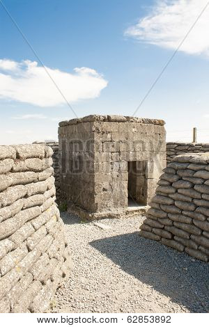 Bunker Pillbox Great World War 1 Flanders Belgium