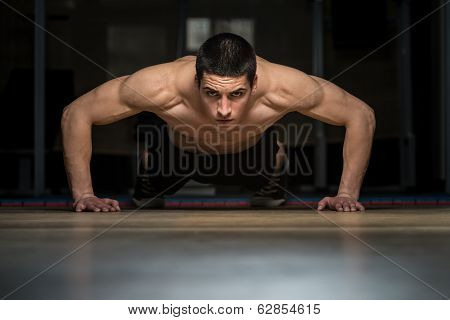 Push-ups Lower Position