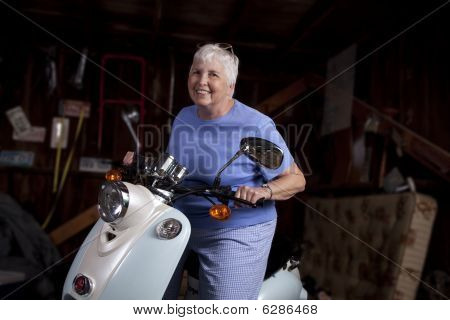 Scootering Senior