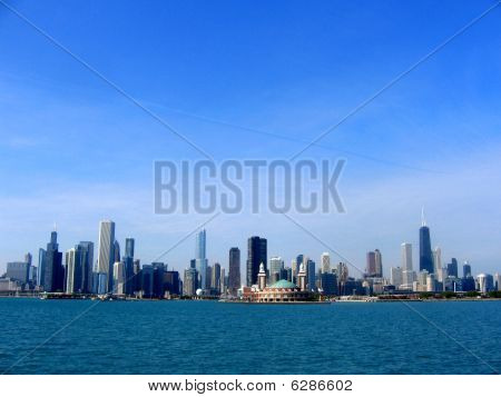 Chicago view, lakefront
