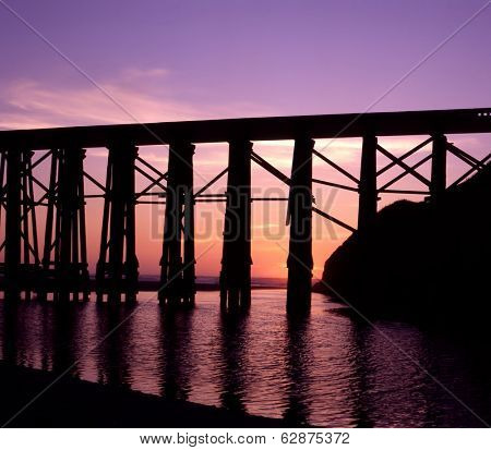Fort Bragg Bridge