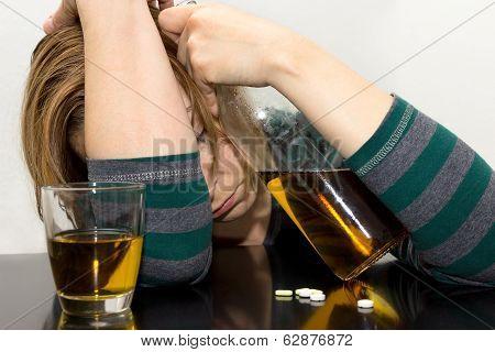 Drunk Female
