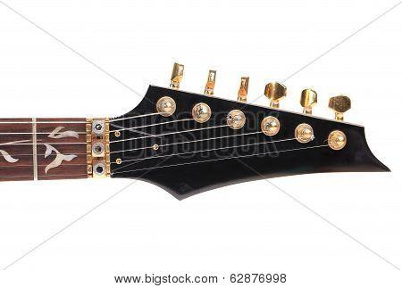 Guitar neck front side.
