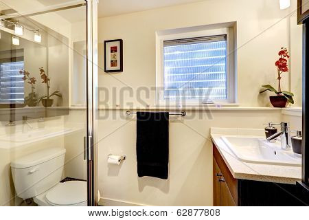 Gentle Bathroom Interior