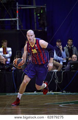 Maciej Lampe Of Fc Barcelona