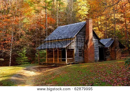 perfect little vintage Homestead in the smokey mountains