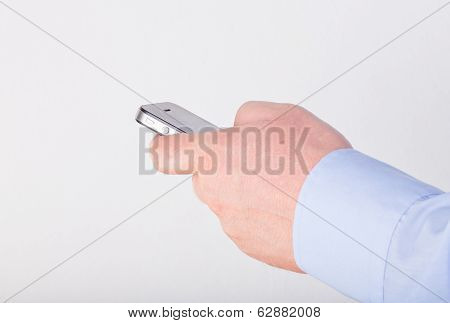 Hand Holding A Smart Phone