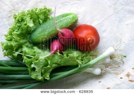 Vegetables For Salad - 4
