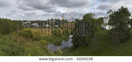 The best view of Suzdal.Russia. XXXL detailed panorama