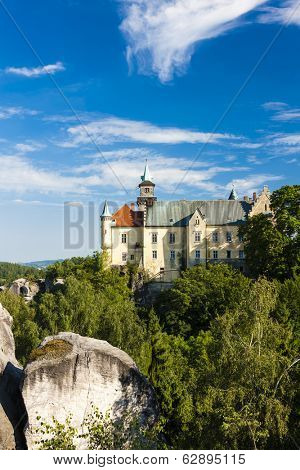 castle Hruba Skala, Czech Republic