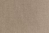 knitted woolen fabric of brown color