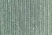 knitted woolen fabric of gray green color