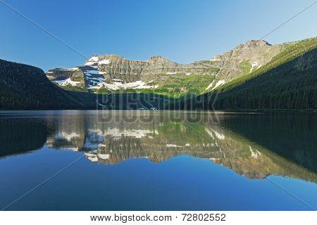Mountain Lake Reflection - Alberta, Canada