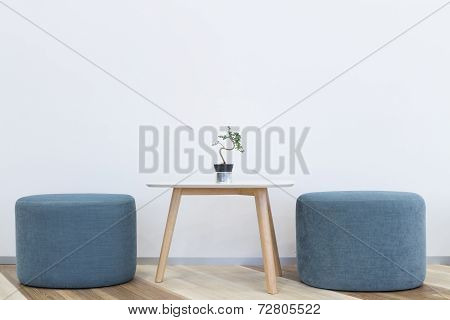 Modern Interior Design Chair And Table