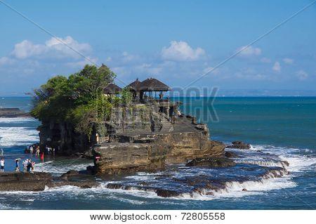 Pura Tanah Lot - Temple In The Sea. Bali, Indonesia