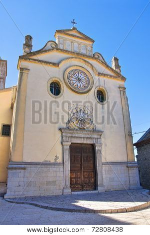 Mother Church of Cancellara. Basilicata. Southern Italy.