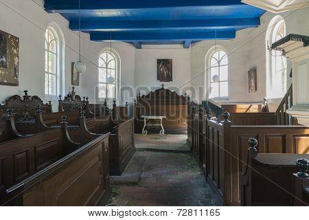 Interior Church In Den Ham