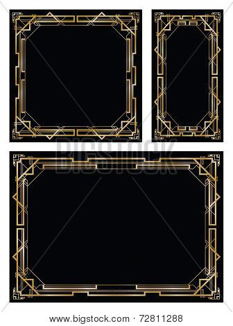 art deco gatsby backgrounds