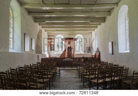 Interior Church Oostrum