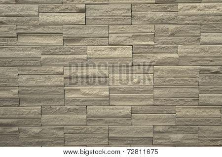 Large wall