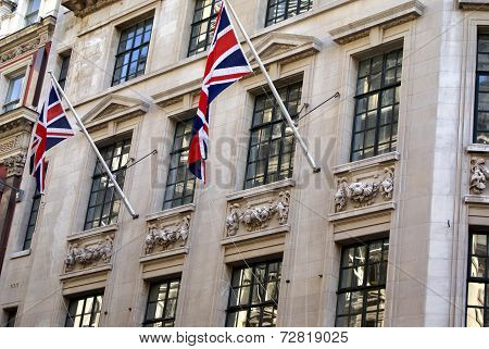 Union Jack or The United Kingdom flag